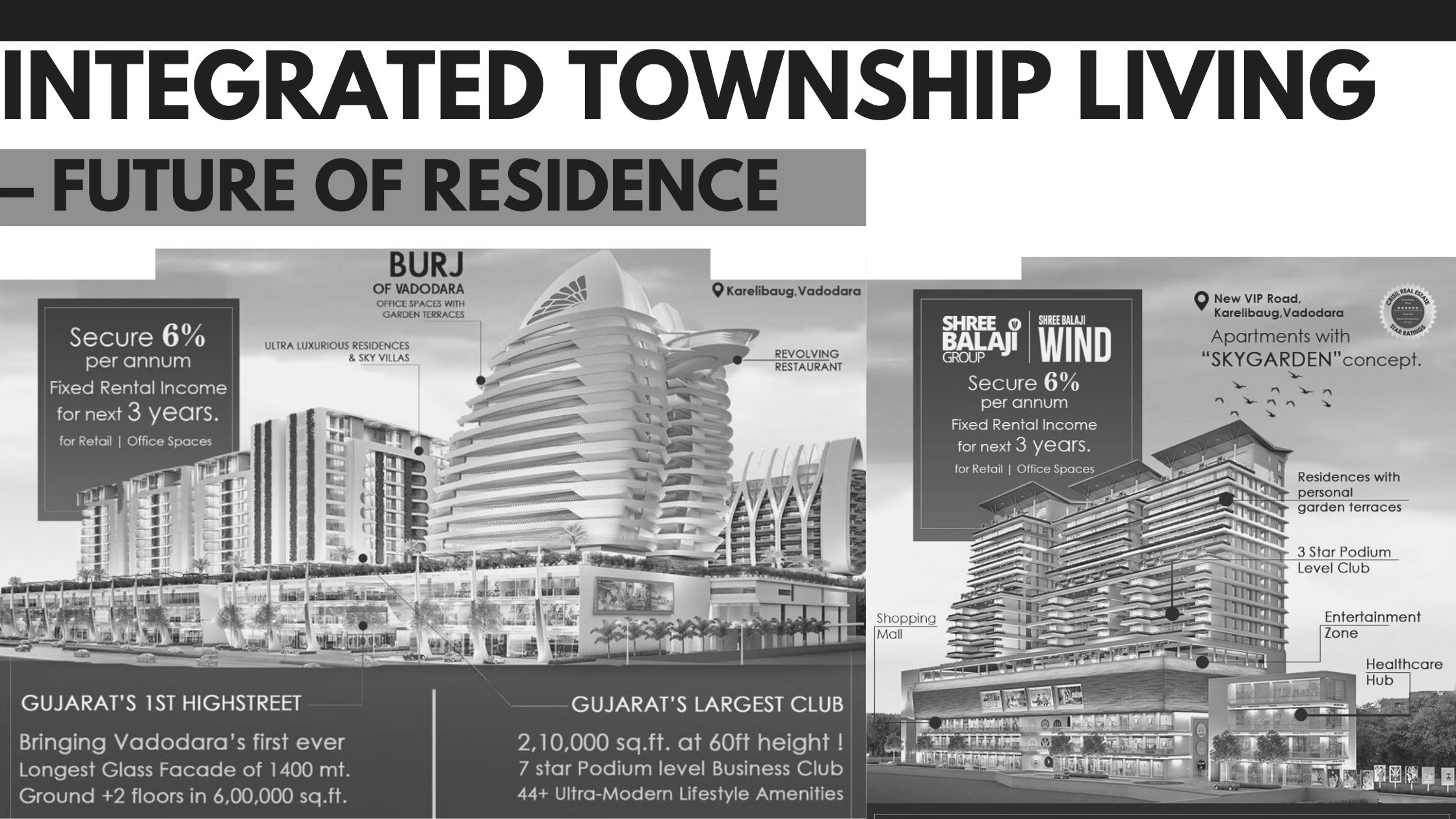 Integrated Township Living – Future Of Residence